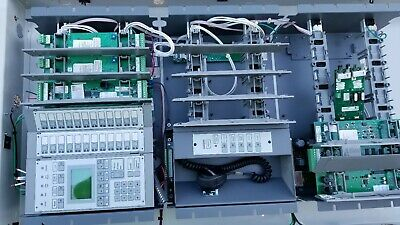 Est 3-fire Alarm Control Panel A Complete System Used Everything Included.