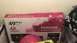 Toshiba 49inch 4K smart TV