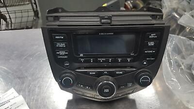 HONDA ACCORD A/V Equipment AM-FM-6 CD (6 disc), w/o navigation; 120 watt, auto