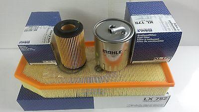 Mercedes ML270 CDi M-Class Diesel Oil Air Fuel Filter Mahle Service kit 2000-05