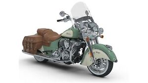 2018 Indian Motorcycles Chief Vintage Willow Green/Ivory Cream