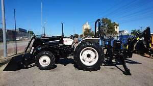 MITSUBISHI 38HP TRACTOR/BACKHOE/FEL PACKAGE Welshpool Canning Area Preview