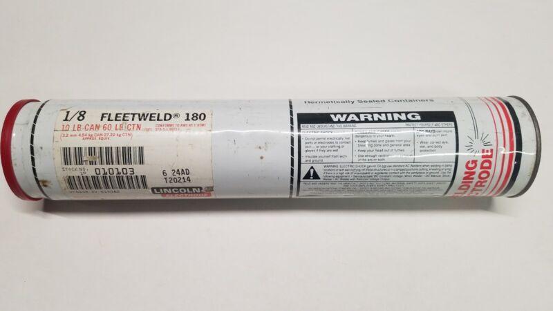 "Lincoln Fleetweld 1/8"" Mild Steel 14"" Lg 10 Lbs. Stock 010103"