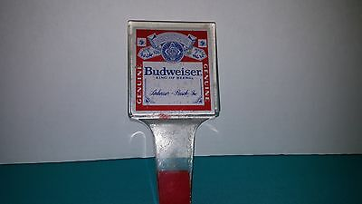 Budweiser King Of Beers Vintage Acrylic Beer Tap Handle