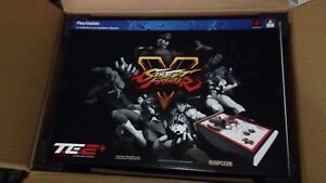 Ps4 with fightstick mad catz head set and games