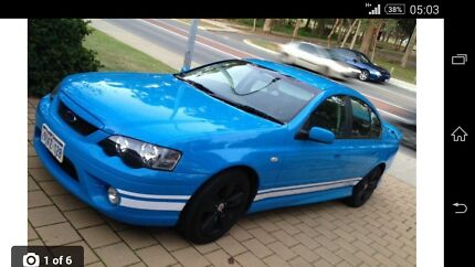 2007 BF MKII Ford Falcon xr6 Belmont Belmont Area Preview