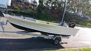 QUINTREX 13 ft - 4 mtr TINNY 2005 15 hp MERCURY, CASTING PLATFORM Balmoral Brisbane South East Preview