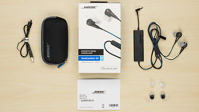NEW Bose Quiet Comfort 20 QC20 Noise Cancelling Headphones Earbud FREE SHIP