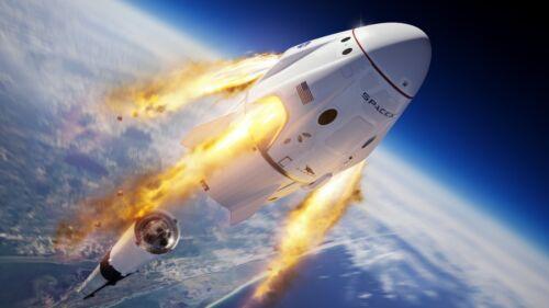 SPACE X -Crew Dragon  8X10 PHOTO SPACEX!