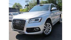 2014 Audi Q5 2.0L QUATTRO PROGRESSIV ~ 104KMS ~ LEATHER !!!