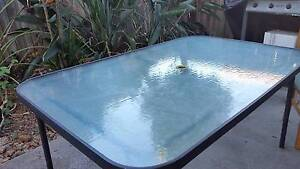 Glass table with 6 chairs Murrumba Downs Pine Rivers Area Preview