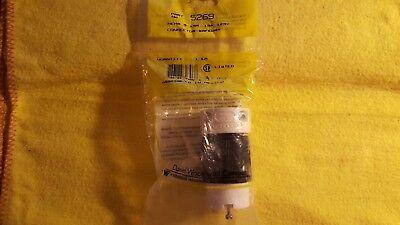 Daniel Woodhead 5269 Plug Connector Nema 5-15r 15a 125v New In Package