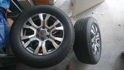 Ford Ranger Wildtrak wheels and tyres