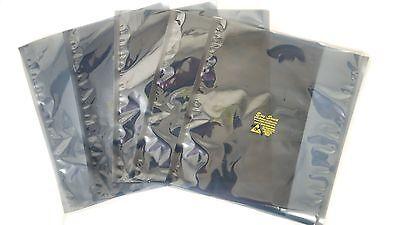 100 Esd Anti-static Shielding Bags10x12 In Inner Diameteropen-top3.1 Mils