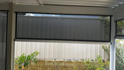 Solarview outdoor mesh blindsoutdoor blinds in Newcastle Region  NSW   Gumtree Australia Free  . Outdoor Blinds And Awnings Newcastle. Home Design Ideas