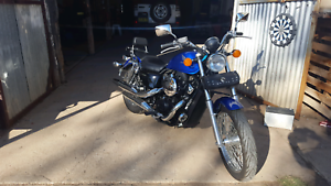 Honda vt750sc 2012model in as new condition. Purchased new mar