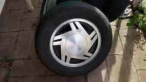 15 inch mags with excellent tread Gepps Cross Port Adelaide Area Preview