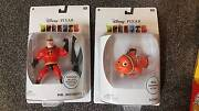 Disney pixary collectible figures - mr incredible & nemo St Agnes Tea Tree Gully Area Preview