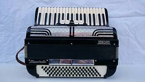 piano accordion borgani macenata 80 bass made in italy Epping Whittlesea Area Preview
