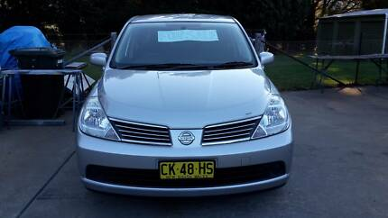 2008 Nissan Tiida Sedan Hartley Lithgow Area Preview