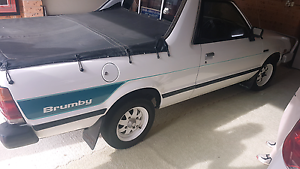 Subaru Brumby 88 manual Forster Great Lakes Area Preview