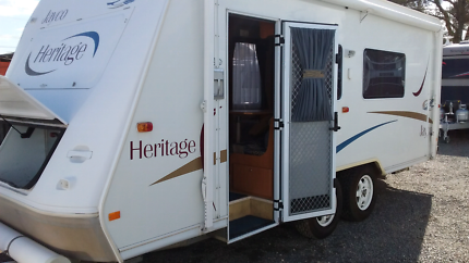 Jayco Heritage 18' PRICE DROP Melrose Park Mitcham Area Preview