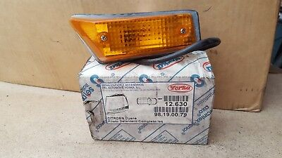 Citroen Dyane Full Front Indicator Light LH YORKA NEW GENUINE