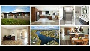 Newly built waterfront home in sturgeon falls