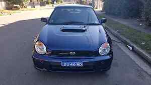 SUBARU WRX TURBO 2 OWNER LOGBOOK HISTORY Mechanically A1 With Lot Regents Park Auburn Area Preview