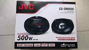 "500w 6x9"" JVC CS-DR6930 car stereo speakers 500 Northmead Parramatta Area Preview"