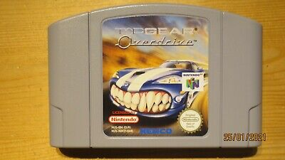 Top Gear Overdrive for Nintendo 64 N64. Cart Only. Pal