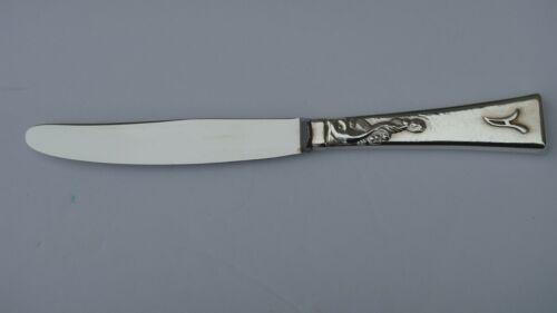 "VINTAGE C. P.PETERSEN ""DOLPHIN"" STERLING SILVER DESSERT KNIFE 6 1/4 "", MONTREAL"