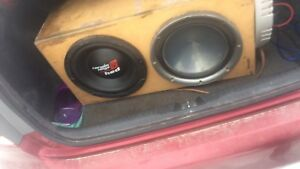 2 12 inch subs