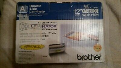 Genuine Brother LC-D12 Cool Laminator 12