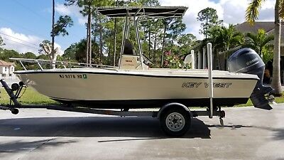 KEY WEST 1900 SPORTSMAN  2017 YAMAHA 115HP WARRANTY UNTIL 03/31/20