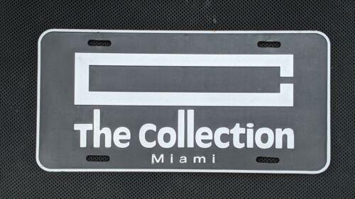 Miami Porsche Car Dealer The Collection License Plate Souvenir 1994