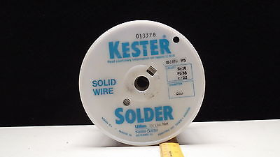Kester 20 Pound Roll Of Solder Wire Type Sn10-pb88-ag2 Dia.063 Partqqs571e Ws