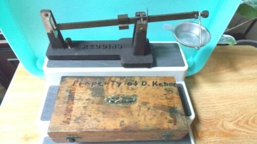 Antique Scale and Weights