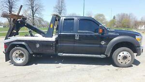 2011 Ford F-550 Jerr-Dan MPL Low Miles Auto loader tow repo