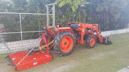 Kubota tractor and slasher Currumbin Waters Gold Coast South Preview