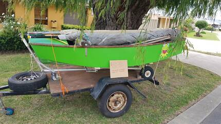 Pelican Dinghy and trailer