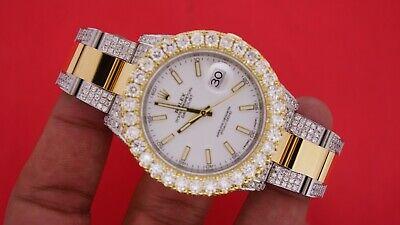 Rolex 41mm Datejust 2 Two Tone Watch VS Diamonds 13 Carats Video Best price