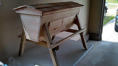 Kenya Bee Hive Observation Top Bar Hivebee Keeping Hive Large