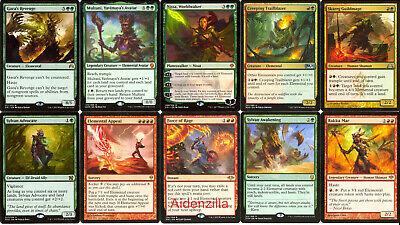 MTG Elemental Deck - Nissa, Worldwaker Multani Chandra - Magic Gathering Elemental Deck Magic Gathering