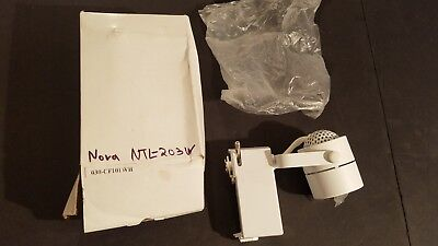 Low Voltage Cylinder - NEW Replacement For Nora NTL-203 - Cylinder Low Voltage Track Fixture - WHITE