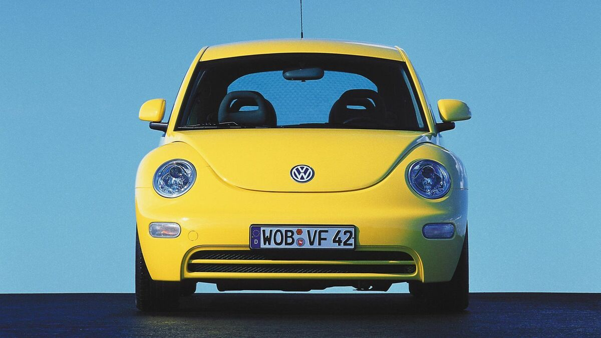 VW Beetle Frontansicht
