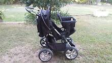 bertini shuttle pram with extra seat Burpengary Caboolture Area Preview