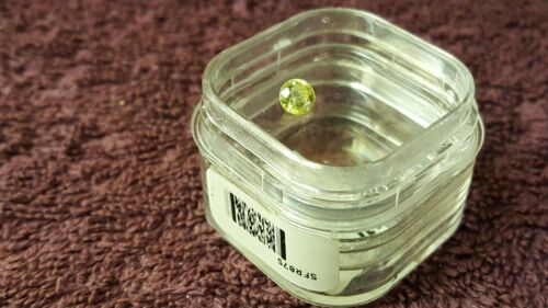 JTV 5mm Round Spanish Sphalerite VVS Clarity 0.73ct (Nice Flash of Color)
