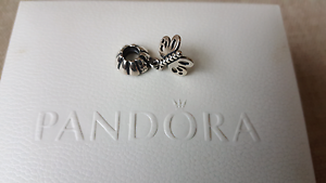 Authentic PANDORA Forever Friends Butterfly Silver Charm - AS NEW Albany Creek Brisbane North East Preview