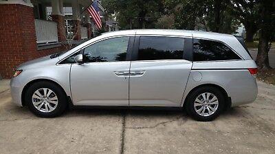 2014 Honda Odyssey EX-L 2014 Silver EX-L Sport Minivan 5D